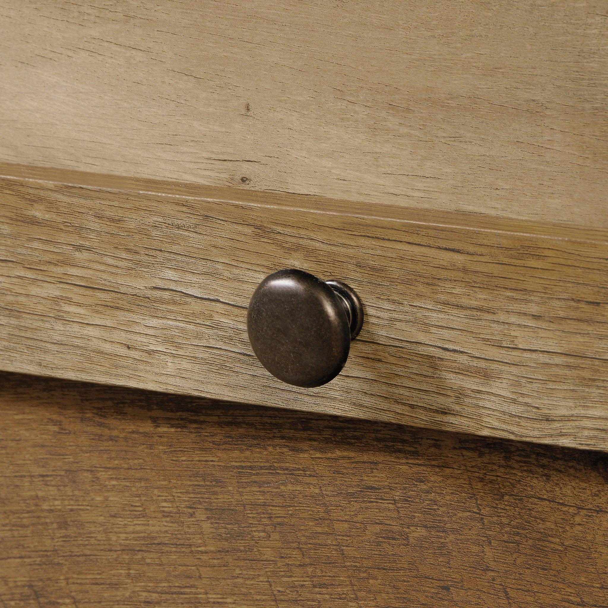Sauder 419077 Dakota Pass Armoire, 33.78'' L x 19.53'' W x 57.84'' H, Craftsman Oak finish by Sauder (Image #8)