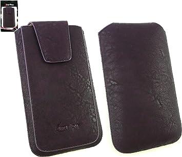 Emartbuy® Classic Range Purple Cuero PU Funda Carcasa Case Tipo ...