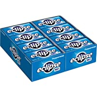 Eclipse Peppermint Sugarfree Mints, 50 Piece Tin (Pack of 16)
