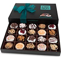 Oh! Nuts Chocolate Covered Cookie Gift Baskets, 20 Variety Gourmet Assortment Set Holiday Food Sandwich Cookies, Prime…