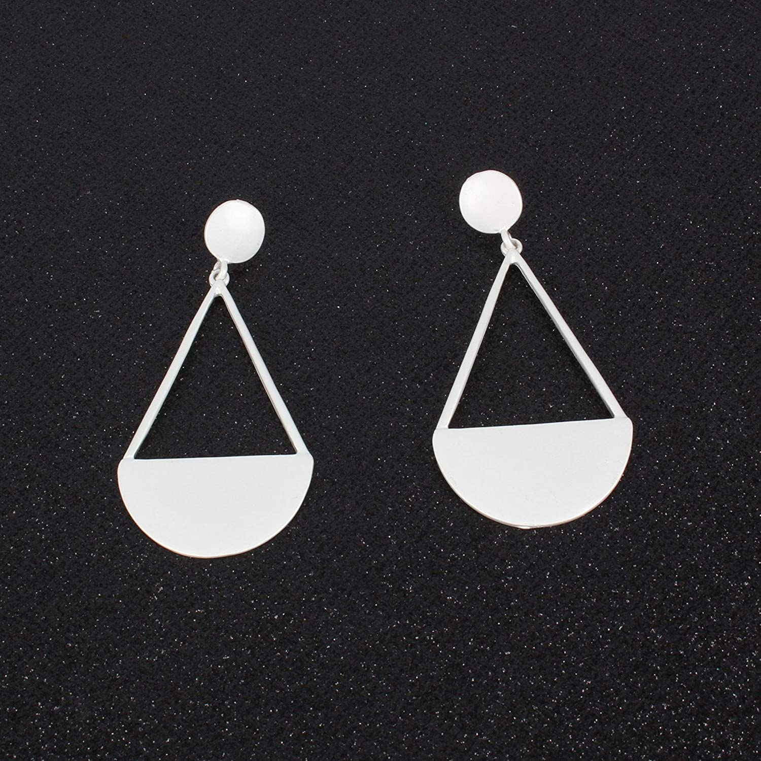 Bohemia Gold Silver Plated Geometric Drop Dangle Earrings For Women Statement Vintage Earrings Girls Fashion Jewelry