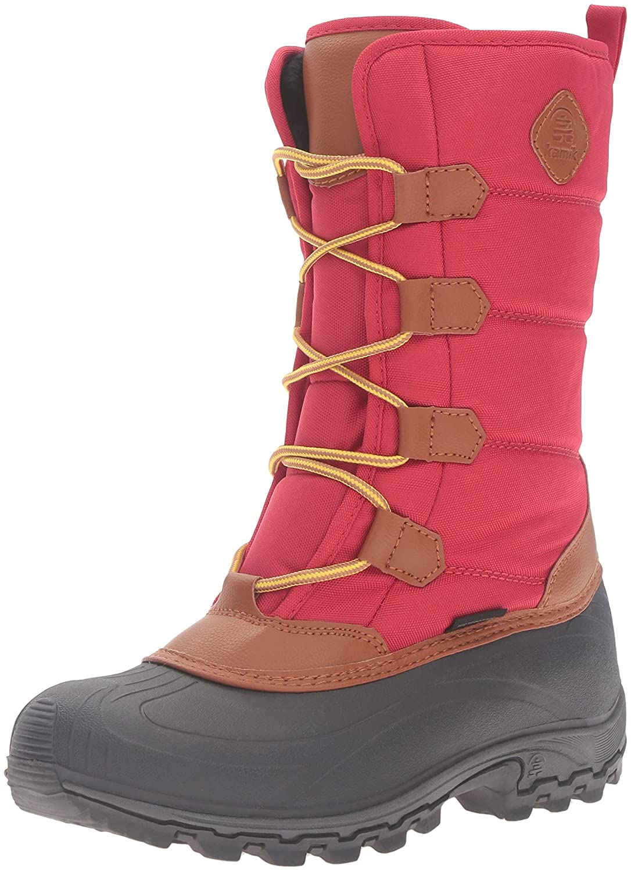 Kamik Women's Mcgrath Snow Boot B0198WFC4E 6 B(M) US Red
