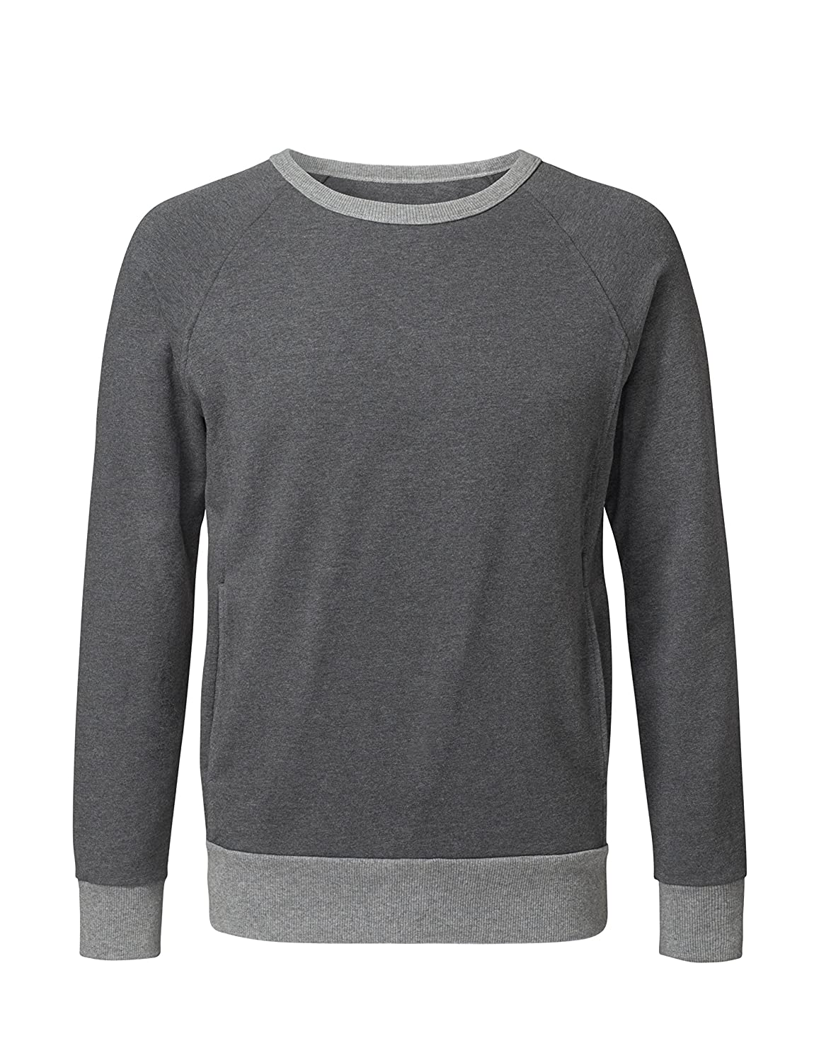 CURARE Yoga Wear Men # 197 Sweater Long Sleeves, Gris ...