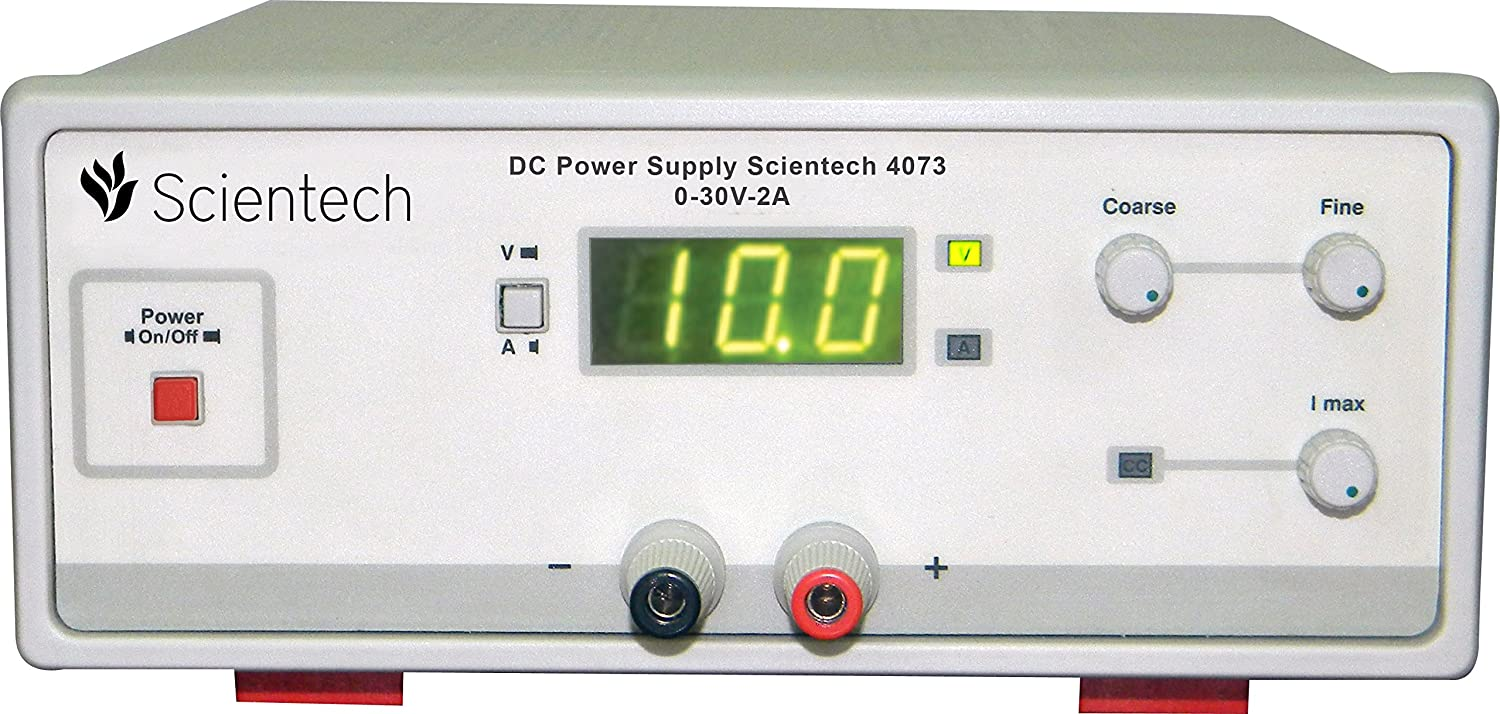 Scientech 4073 0 30v 2a Dc Power Supply 1 Year Warranty Amazon Variable Circuit Together With Top Circuits Page 707