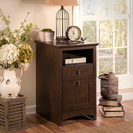 Bush Furniture Buena Vista 2 Drawer File Cabinet In Madison Cherry