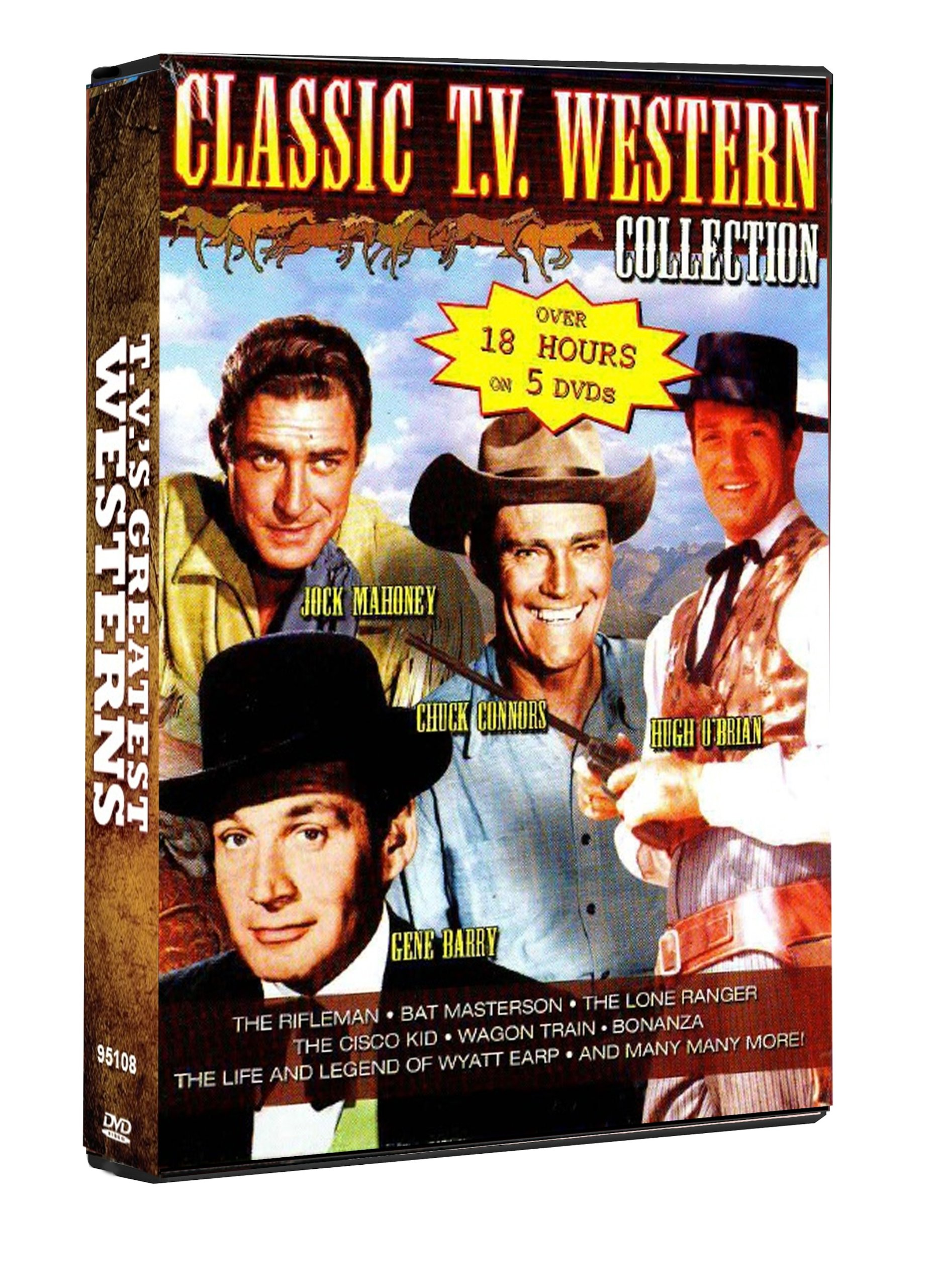 TV's Greatest Westerns: The Rifleman, Bat Masterson, The Lone Ranger, The Cisco Kid, Wagon Train, Bonanza, and more! by TGG Direct, LLC