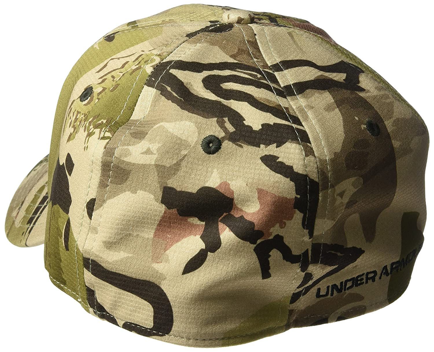 d0d1e898a1a Amazon.com  Under Armour Men s Camo Stretch Fit Cap  Sports   Outdoors