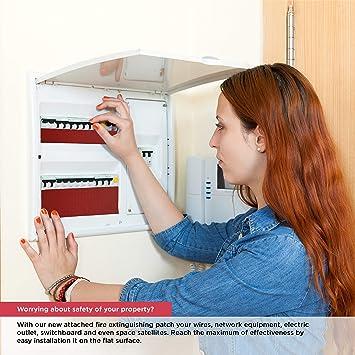 KORDO - Extintor de incendios de tipo simple para central, panel de distribución, circuito eléctrico / 15 L: Amazon.es: Bricolaje y herramientas