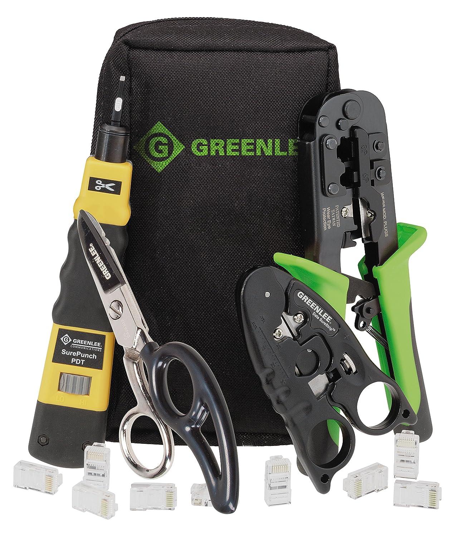 Greenlee 4908 Datacomm Pro Starter Toolkit