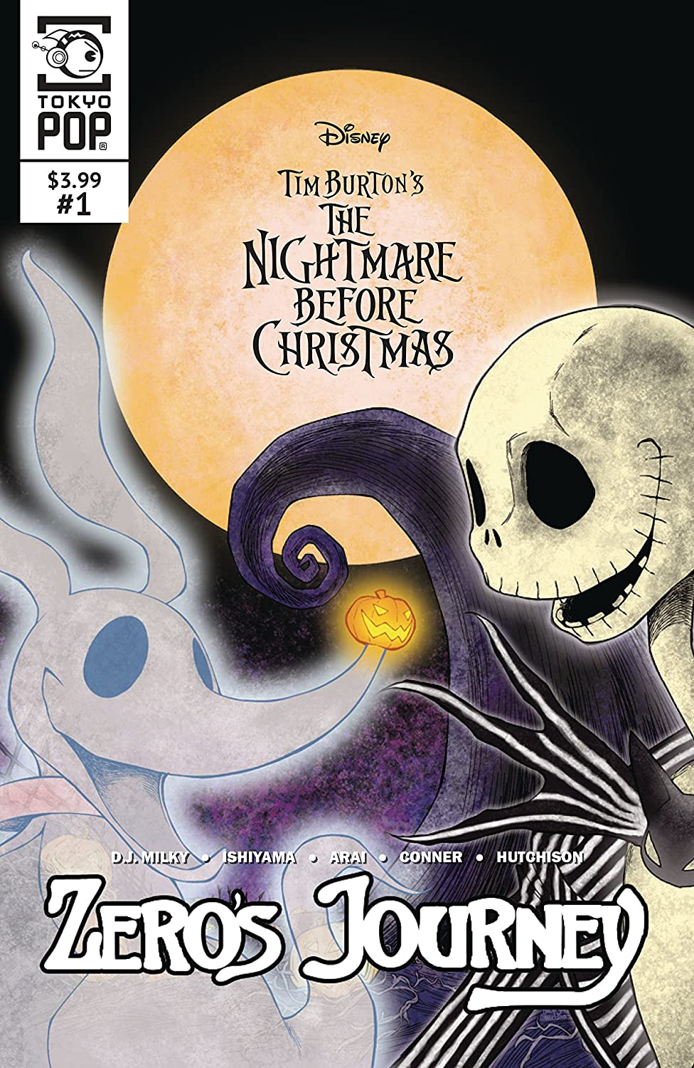 Amazon.com : NIGHTMARE BEFORE CHRISTMAS ZEROS JOURNEY #1 CVR B ...