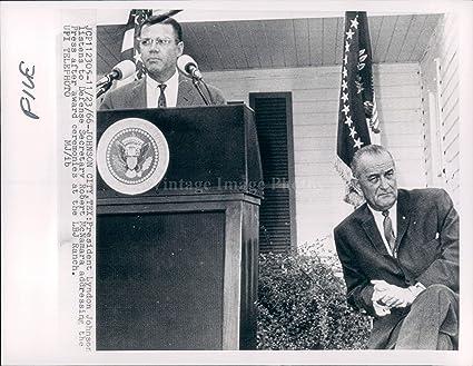 Amazon com: 1966 Photo Johnson City TX President Lyndon