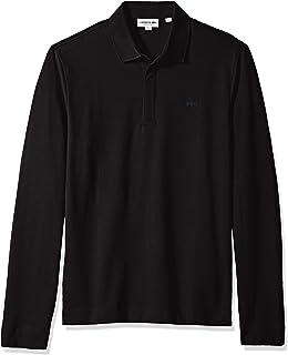 fa4983e7c5d7 Lacoste Men s Long Sleeve Reg Fit Stretch Pique Nouvelle Polo