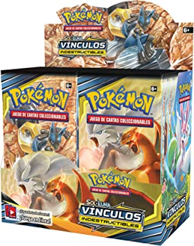 Pokemon JCC- Display de 36 Sobres de Sol y Luna: Vínculos Indestructibles, Color (POSMUB02) [Edición: España]: Amazon.es: Juguetes y juegos