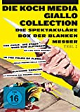 Die Koch Media Giallo-Collection Teil 2 - Die spektakuläre Box der blanken Messer [3 DVDs]