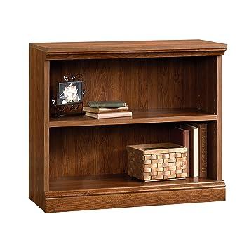 Sauder Camden County 2-Shelf Bookcase, Planked Cherry