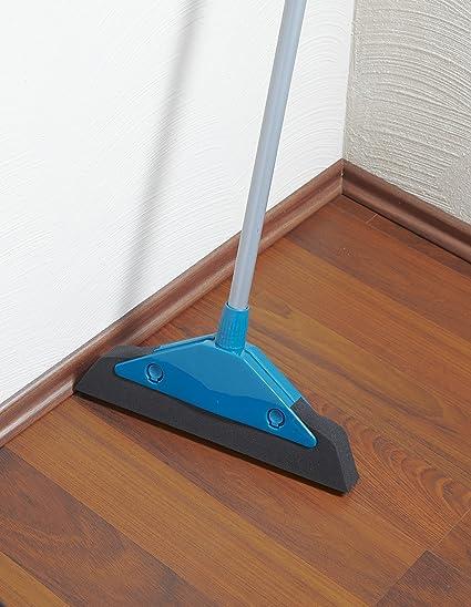 Best Broom For Hardwood Floors libman large precision angle broom bristles Amazoncom Leifheit Soft Easy Foam Broom Home Kitchen