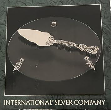 International plateado Company envejecido diseño de uva y plateado ...