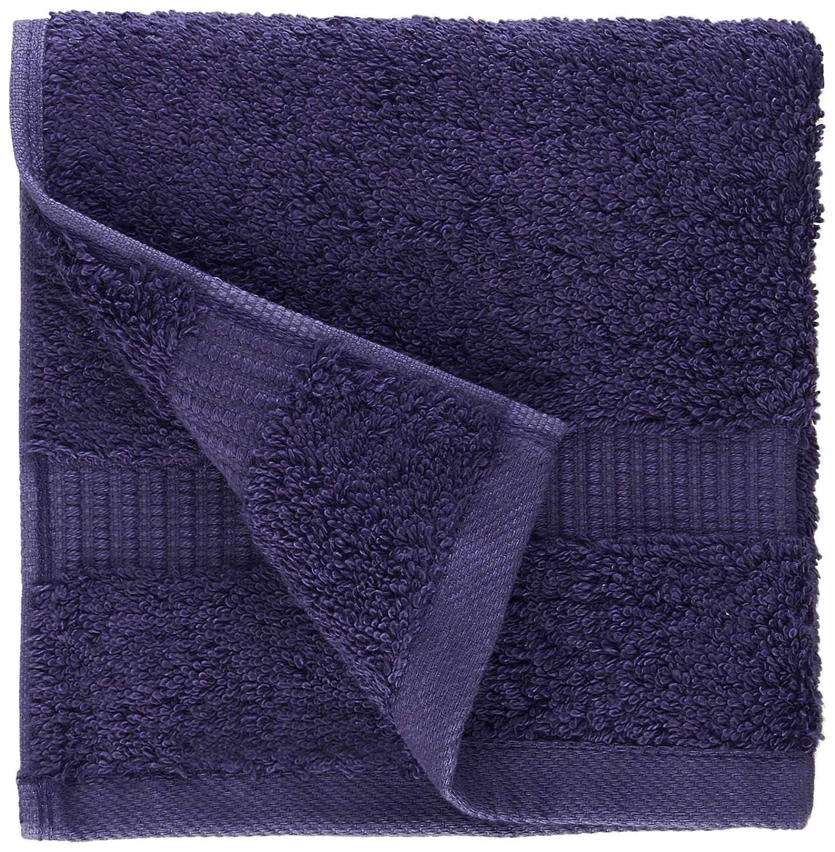 Pinzon - Toallitas de mezcla de algodón orgánico, juego de 12, Azul marino: Amazon.es: Hogar