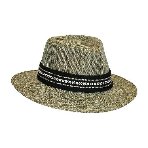 061dd4228ad08 Brown Tan Panama Sun Hat