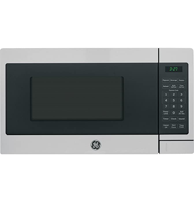 GE 0.7 Cu. Ft. Capacity Countertop Microwave Oven with Optional Hanging Kit