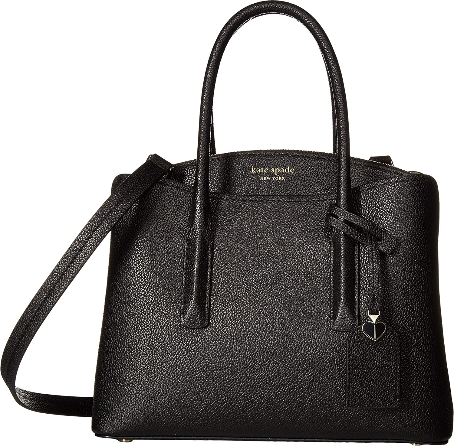 Amazon.com  Kate Spade New York Women s Margaux Medium Satchel Black One  Size  Shoes bf280e894e45a