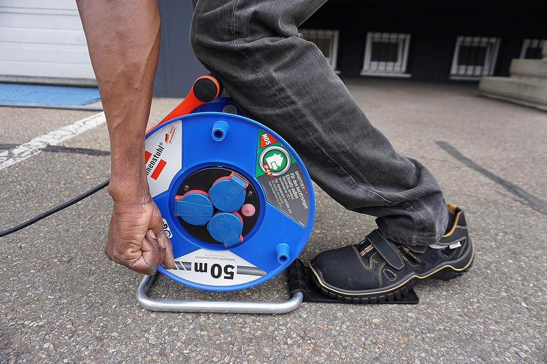 Brennenstuhl 1081001 Repose-pied pour enrouleur de c/âble Rouge