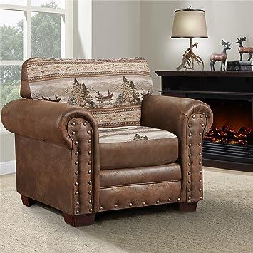 Sensational American Furniture Classics Alpine Lodge Chair Amazon Co Uk Download Free Architecture Designs Jebrpmadebymaigaardcom