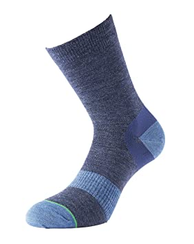 1000 Mile Women's Ultimate Approach Walking Socks - Navy, Small/Size UK 3-