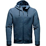 The North Face Men's Thermal Cotton Full Zip Hoodie Shady Blue