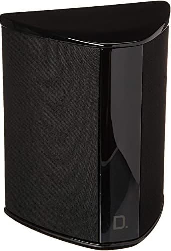 Definitive Technology SR-9040 10 Bipolar Surround Speaker High Performance Premium Sound Quality Wall or Table Placement Options Single, Black