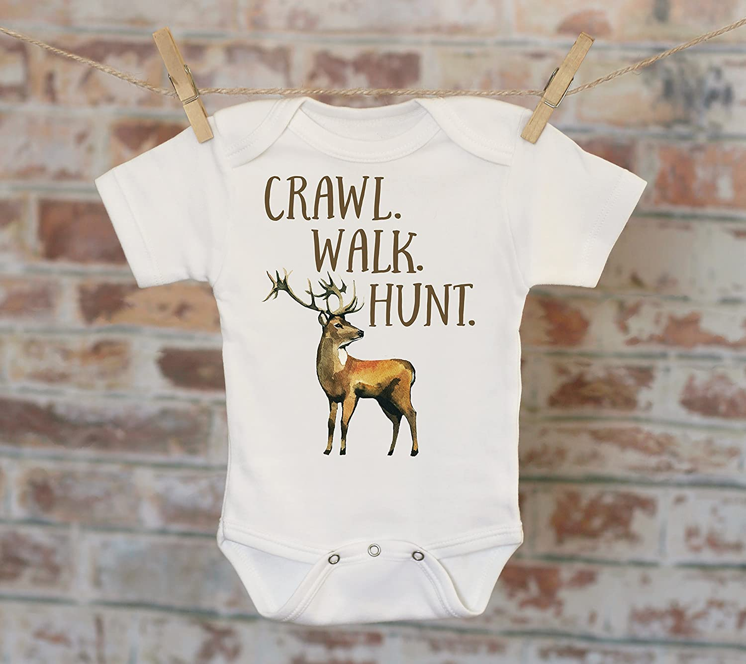 83cc39d61 Perfect for hunting season! **** Welcome to Witty and Bitty, your online  source for cute and fun baby and toddler clothes. Our Onesies ...