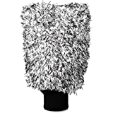 Adam's New Microfiber Car Wash Mitt - Soft, Machine Washable Microfiber That Will Not Introduce New Scratches or Swirls - Holds Tons of Sudsy Water for Effective Washing