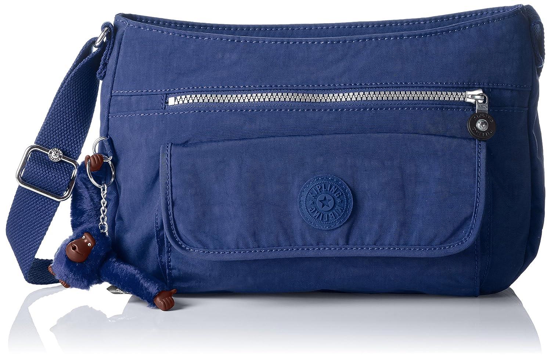 Kipling Womens Syro Cross Body Bag Blue Ref33v Jazzy Blue