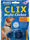 Clix Chien Multiclicker Clicker Réglable 3 Sons