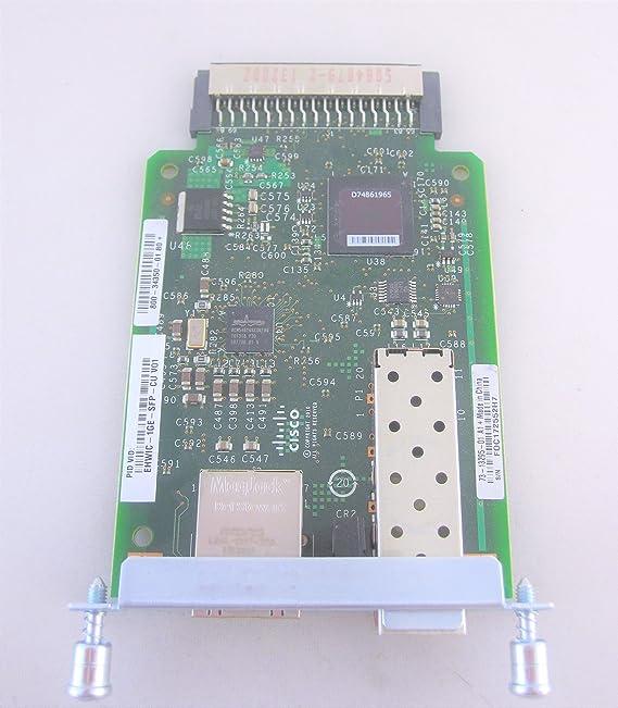 Cisco HWIC-1GE-SFP Gigabit Ethernet High Speed WIC Card Renewed