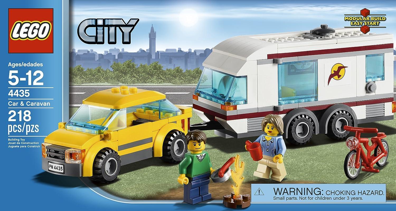 LEGO City Town Car and Caravan 4435 4648754
