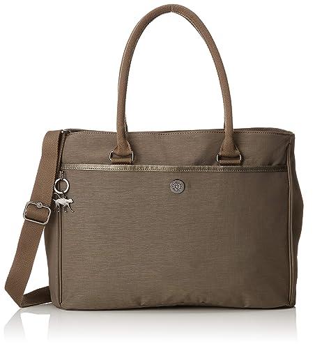3effcbaf87 Kipling Artego, Women's Laptop Bag, Beige (Spark Taupe), 15x39x28.5 ...