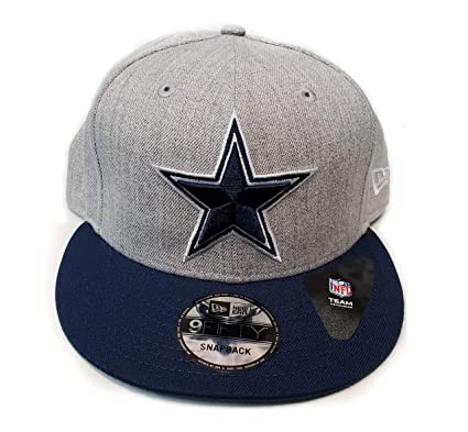 774ec2278 Image Unavailable. Image not available for. Color  Dallas Cowboys New Era  Heather Grand Snapback