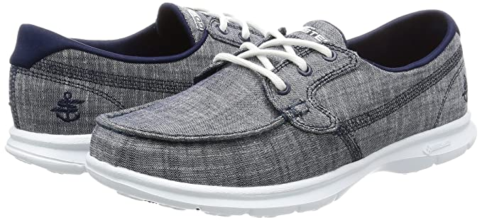 Skechers Womens/Ladies Go Step - Marina Textile Canvas Casual ...