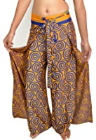 Wevez Women's Pack of 5 Thai Fisherman Pants, One Size, Assorted