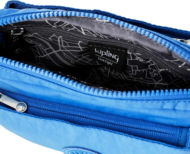 Kipling Women's Abanu Cross-Body Bag Blue (Wave Blue)