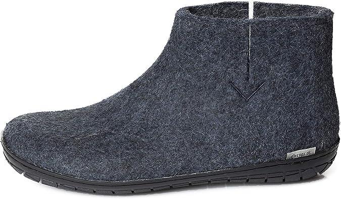 Denim ,39 EU glerups dk A Shoes Mixte Adulte Pantoufles en Feutre,Chaussons Bleu