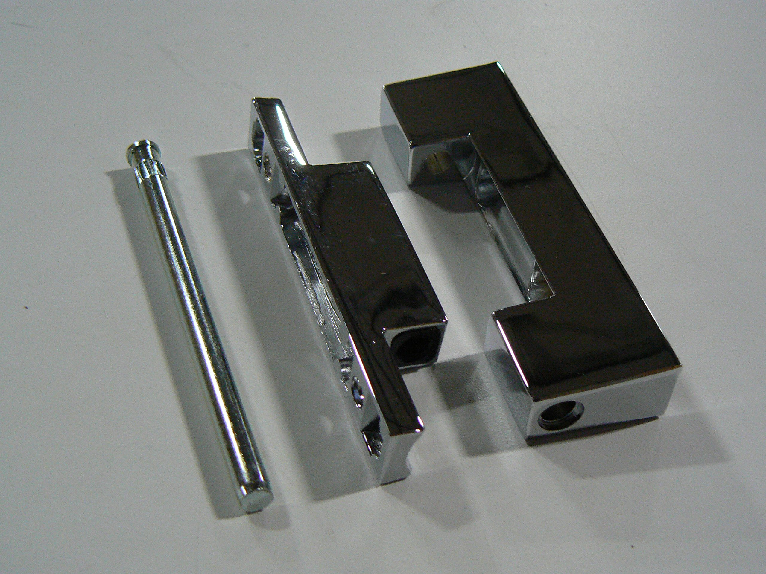 Component Hardware R20 Series Reversible Edgemount Hinge with 7/8