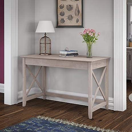 Superior Bush Furniture KWD148WG 03 Writing Desk Key West 48W, Washed Gray