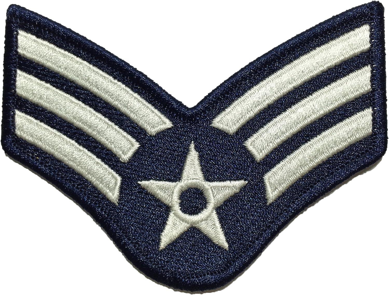 Ranger Parche Bordado para Bordar con el Logotipo del ejército Militar de los Estados Unidos y la Fuerza aérea Estadounidense Return (RR-USAF-CHEV-SENR-0001) Return: Amazon.es: Hogar