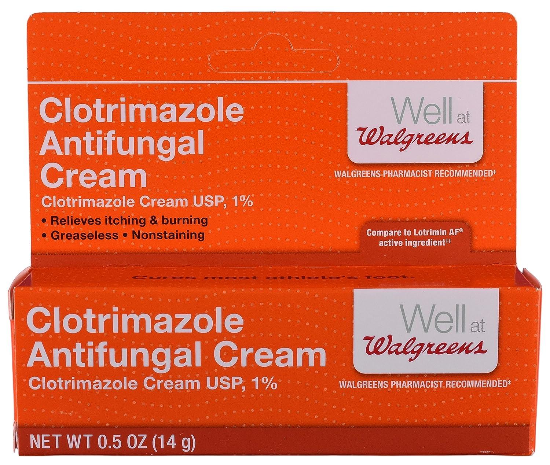 Amazon com: Walgreens Clotrimazole Antifungal Cream 1% Usp