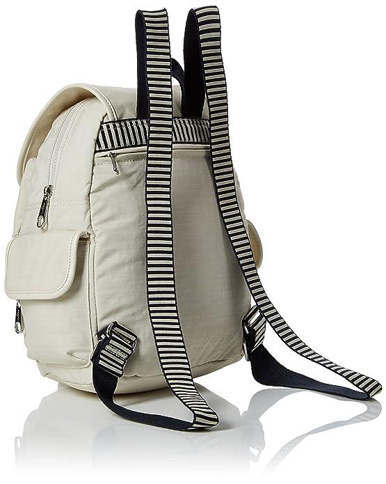 09421e712f Kipling City Pack S - Zaini Donna, Bianco (Dazz Cream C), 15x24x45 cm (W x  H x L): Amazon.it: Scarpe e borse