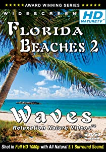 Florida Beaches 2 / Waves Relaxation Nature Videos (Shot in 1080p HD) DVD