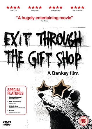 Exit Through The Gift Shop [DVD]: Amazon.co.uk: Bansky, Space ...
