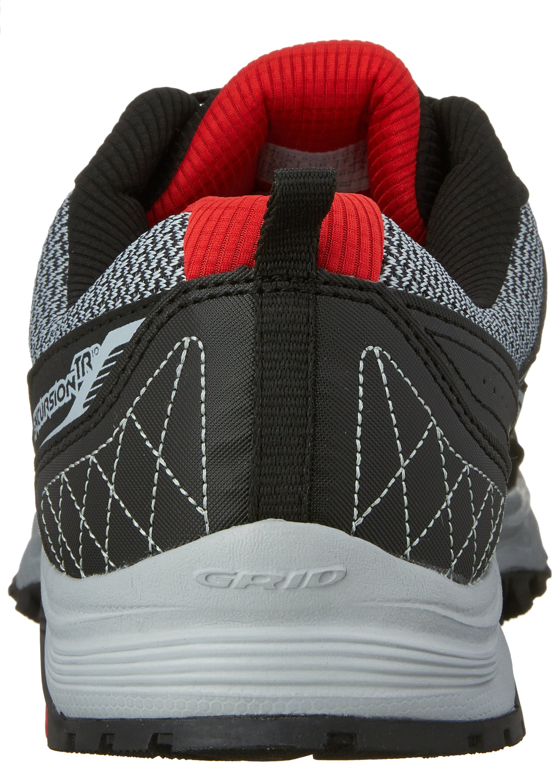 Saucony Excursion TR10 Wide Men 9 Grey | Black | Red by Saucony (Image #2)
